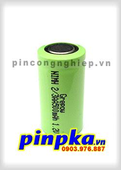 Pin Sạc Công Nghiệp-Pin Cell 1,2v NIMH 2/3AA 500mAh